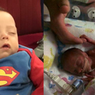 Baby Arlo was born at just 24 weeks but now is 7 months and weighs 12lbs
