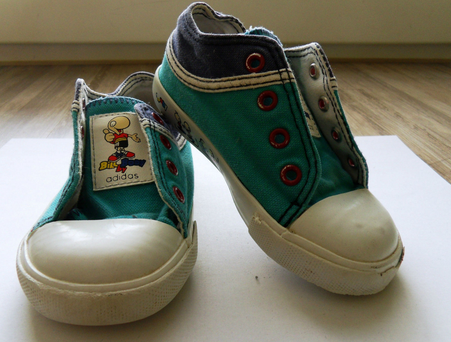 The 'Haunted 90s Irish Kid's Spirit' canvas shoes