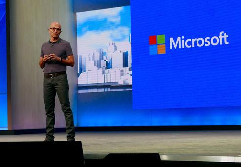Satya Nadella, chief executive, Microsoft