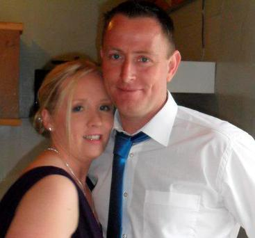 Tracey Campbell Fitzpatrick and her husband Bernard