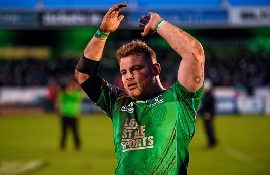 Finlay Bealham of Connacht. Photo: Stephen McCarthy/Sportsfile