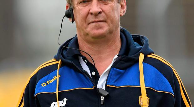 Clare manager Colm Collins. Photo: Stephen McCarthy/Sportsfile