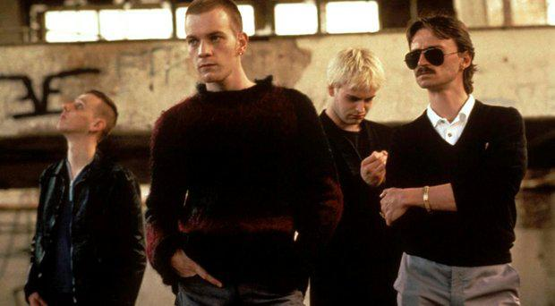 The cast of the original Trainspotting