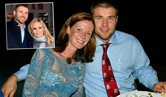 Ben Cohen and Abby Cohen and (inset) Ben with Kristina Rihanoff