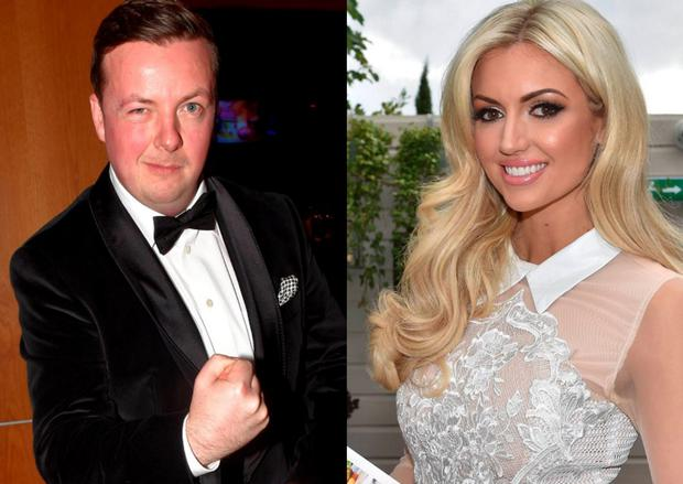Oliver Callan (left) and Rosanna Davison (right)