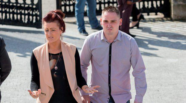 Roseann Brennan (mother) and Chris Brennan (father) pictured at Carlow Court at the inquest into the death of Jake Brennan in Kilkenny in 2014