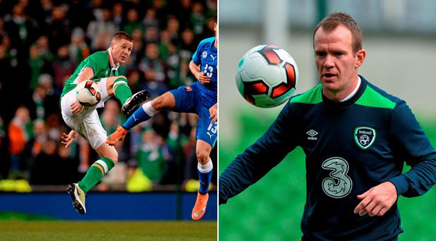 John Giles doesn't want to see James mcCarthy and Glenn Whelan partnered in midfield
