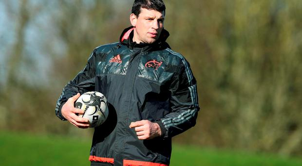 Former Munster star Denis Leamy, who has inspired the players on and off the pitch. Photo: ©INPHO/Donall Farmer