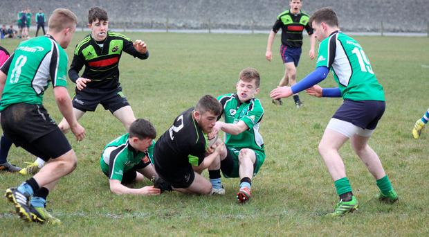 The Munster Rugby player screening programme continued throughout the Easter break for the U17 clubs and schools players