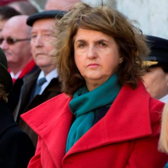 Acting Tánaiste Joan Burton. Photo: Mark Condren