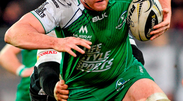 Connacht's Eoin McKeon. Photo: Max Pratelli / Sportsfile