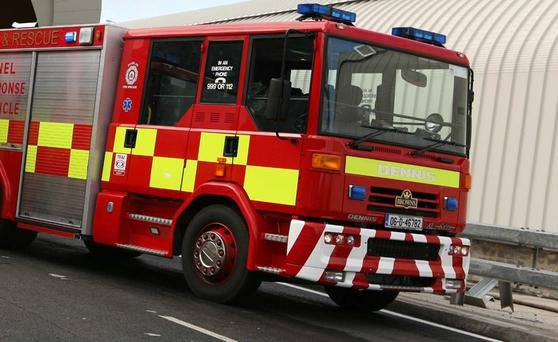 The Dublin fire service. Stock image