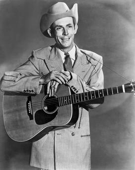 On song: Hank Williams inspired musicians like Bob Dylan and Johnny Cash.