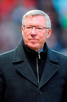 Sir Alex Ferguson. Photo: PA