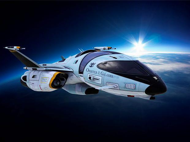 Orbiter of the Galaxies - coming to a spaceport near you. Photo: Royal Caribbean