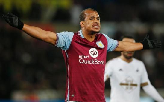 Gabriel Agbonlahor is being investigated by Aston Villa