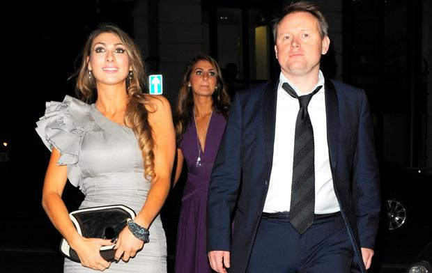 Luisa Zissman and Andrew Collins in London. Picture: WENN.com