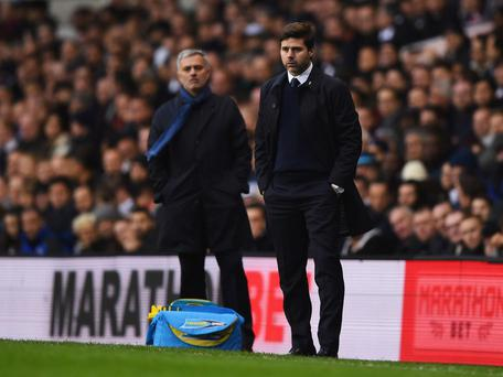 Mauricio Pochettino and Jose Mourinho are among the men tipped to replace Louis van Gaal at Manchester United