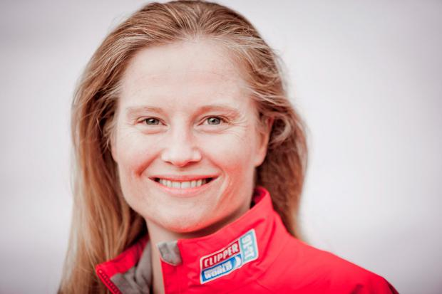 Sarah Young, 40, who has died after being swept overboard while competing in the Clipper Round The World Yacht Race.