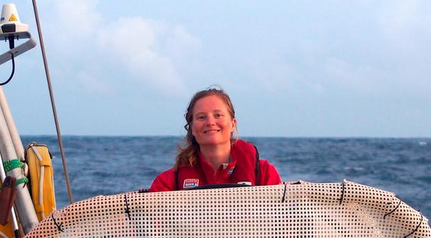 Sarah Young, 40, who died after being swept overboard while competing in the Clipper Round The World Yacht Race