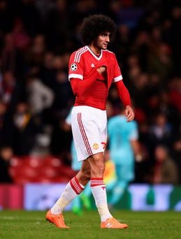 Marouane Fellaini remains popular with his Manchester United and Belgian managers. (Photo: Michael Regan/Getty Images