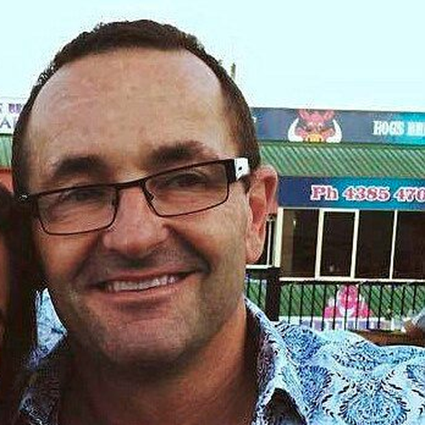 Keith Collins who was stabbed while on a date in Sydney