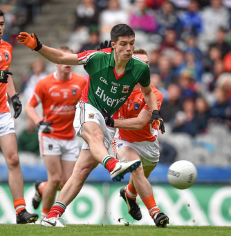 "Mayo's Brian Reape has warned that the county has ""seriously underachieved"" at U-21 level. Photo: Brendan Moran/Sportsfile"