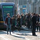 Luas workers scored an own goal by not postponing their strike over the Easter period. Photo: Gareth Chaney Collins