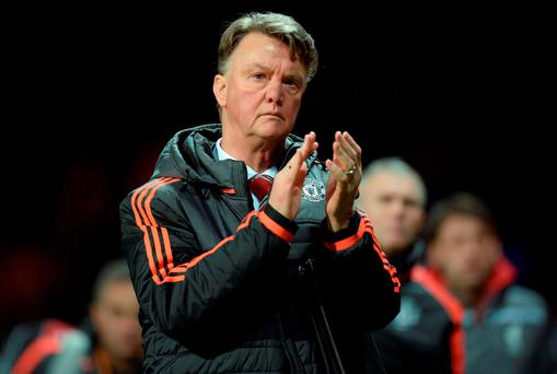 Manchester United manager Louis van Gaal. Photo: AFP/Getty Images