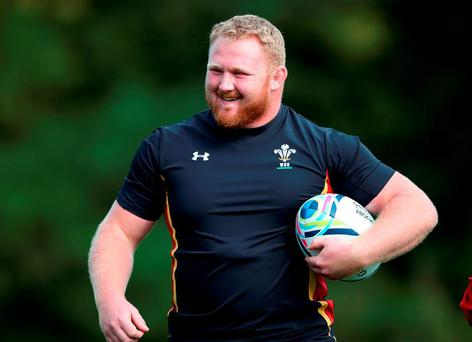 'Scarlets were boosted by the return of Wales prop Samson Lee (p)' Photo: Getty