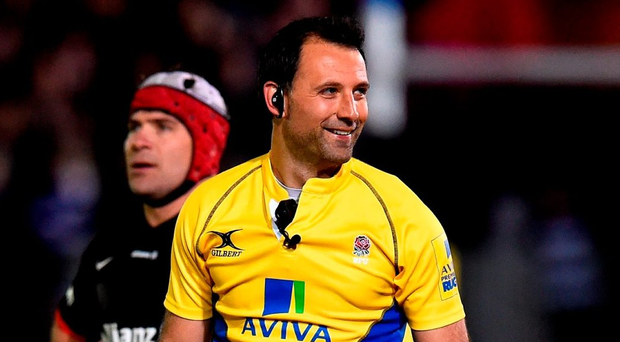 Referee Greg Garner (pictured) was allegedly confronted by a supporter following Friday's game Photo: Stu Forster/Getty Images