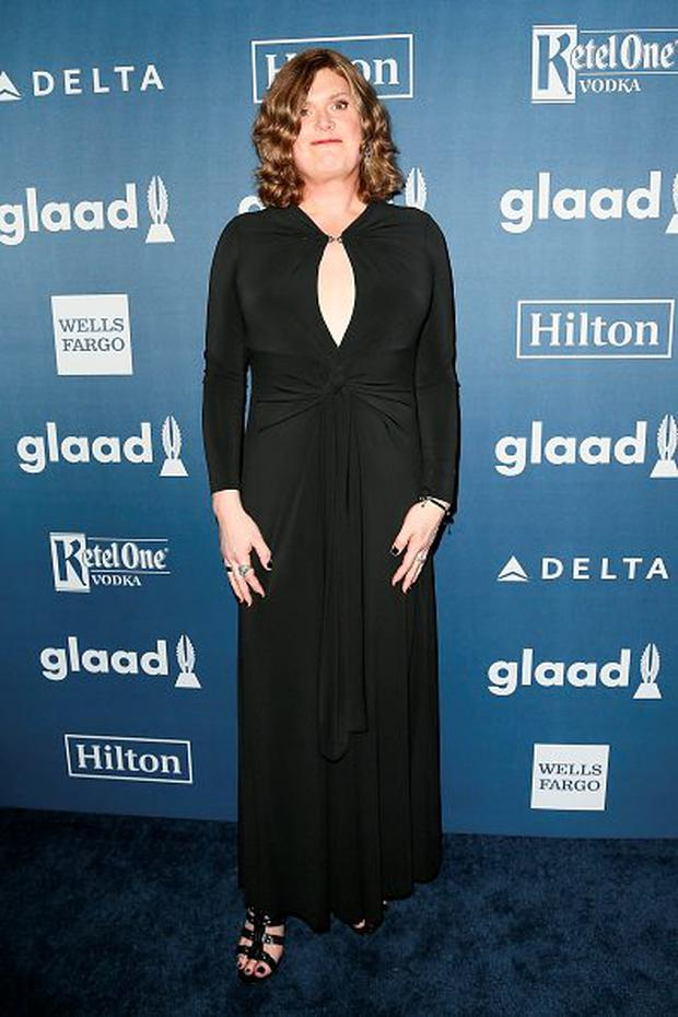 BEVERLY HILLS, CALIFORNIA - APRIL 02: Writer/Director Lilly Wachowski arrives at the 27th Annual GLAAD Media Awards at The Beverly Hilton Hotel on April 2, 2016 in Beverly Hills, California. (Photo by David Livingston/Getty Images)