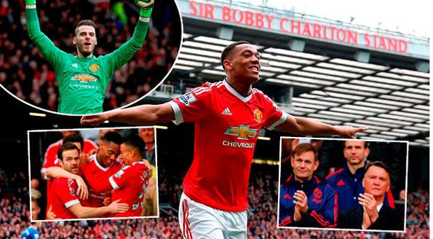 Manchester United beat Everton 1-0 at Old Trafford