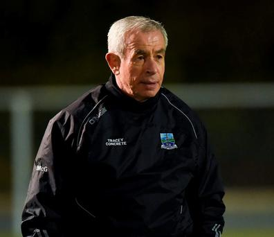Fermanagh manager Pete McGrath Photo: Philip Fitzpatrick / Sportsfile