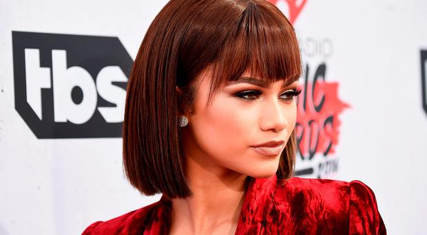 Actress Zendaya attends the iHeartRadio Music Awards at The Forum on April 3, 2016 in Inglewood, California. (Photo by Frazer Harrison/Getty Images for iHeartRadio / Turner)