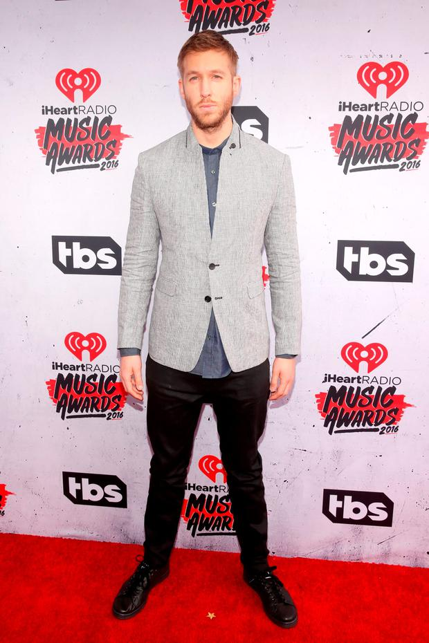 Recording artist Calvin Harris attends the iHeartRadio Music Awards at The Forum on April 3, 2016 in Inglewood, California. (Photo by Jesse Grant/Getty Images for iHeartRadio / Turner)