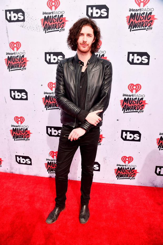 Hozier attends the iHeartRadio Music Awards at The Forum on April 3, 2016 in Inglewood, California. (Photo by Alberto E. Rodriguez/Getty Images for iHeartRadio / Turner)