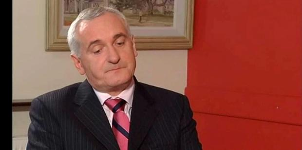Long rambling interview: Bertie Ahern.