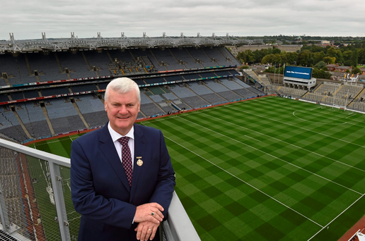GAA president Aogan O Fearghail: 'Whatever format you're going to get, you're going to have anomalies arising'. Photo: Sportsfile