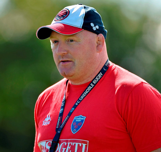 Bernard Jackman will be hoping that his Grenoble side can put one over on Connacht this Saturday Photo: Matt Browne / SPORTSFILE