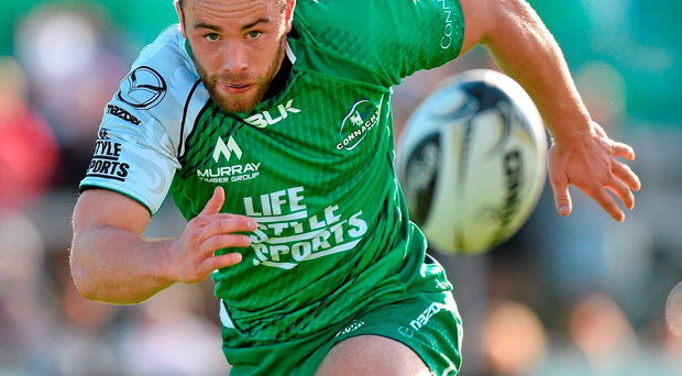 Shane O'Leary is hoping to produce the goods against Grenoble on Saturday Photo: Matt Browne / SPORTSFILE