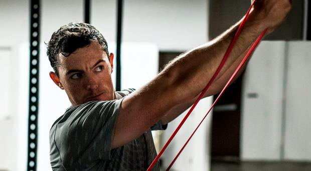 Rory McIlroy's preparations include a 5.30am wake-up call and double sessions in the gym