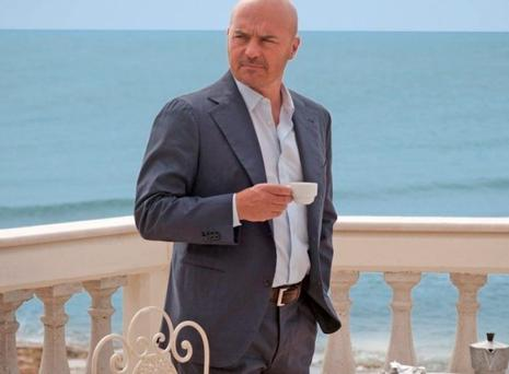 Luca Zingaretti as Inspector Montalbano in the crime series