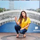 Louise Duffy at the launch of Aviva's 'Price Lock Promise' offer for customers
