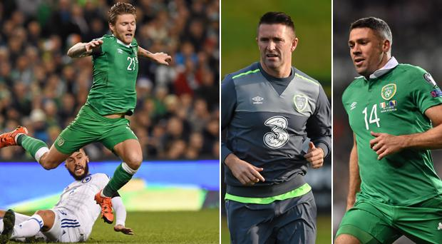 Jeff Hendrick has joined the likes of Robbie Keane and Jon Walters on the sidelines.