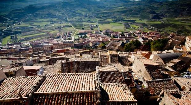 Gangi, in Sicily, where houses are sold for one euro