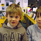 Oscar and Isaac are among the group of children who review Irish TV shows Glenroe, Bosco and The Den for YouthTube. Photo: YouthTube / YouTube