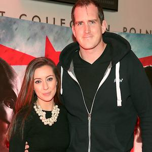 Devin Toner and Mary Scott at the Irish premiere screening of Batman V Superman at the Savoy Cinema, Dublin. Picture: Brian McEvoy