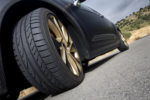 A new study has found that defective tyres were a big factor in single vehicle crashes. Stock Image