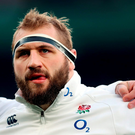File photo dated 27-02-2016 of England's Joe Marler. PRESS ASSOCIATION Photo. Issue date: Tuesday April 5, 2016. Joe Marler on Monday apologised for calling Wales prop Samson Lee a